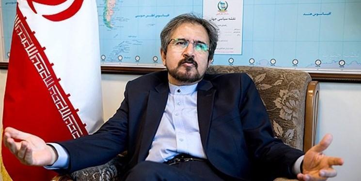 واکنش قاسمی به کارشکنی آمریکا در ممانعت از بهره مندی ایران از منابع اقتصادی بین المللی برای مبارزه با کرونا