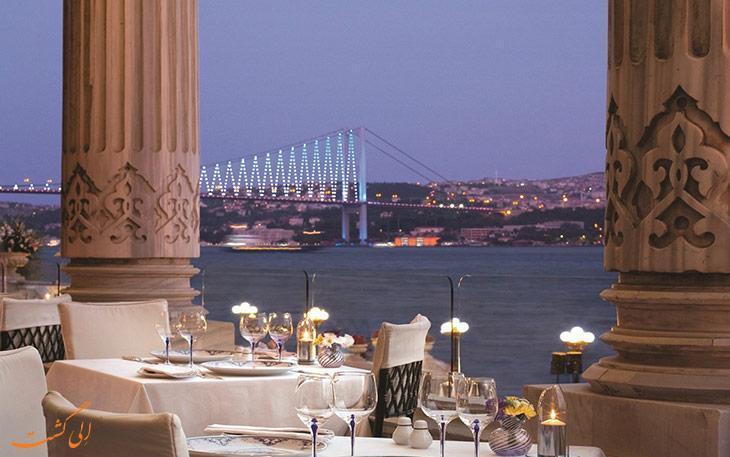 بهترین رستوران های استانبول با چشم انداز تنگه بسفر
