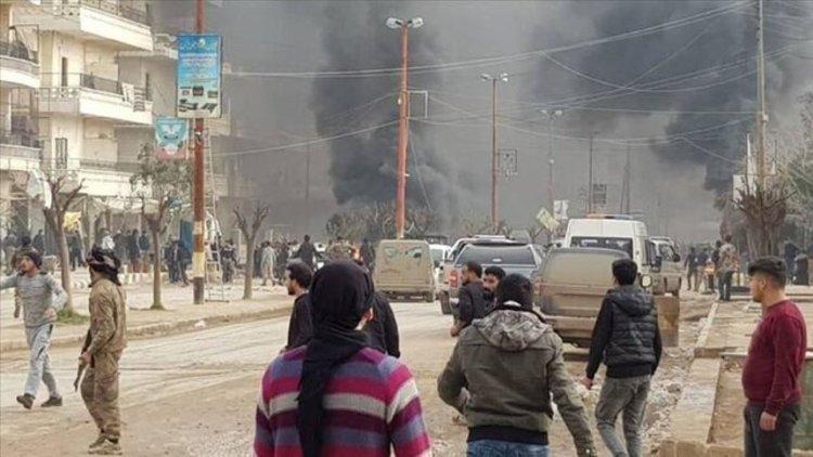 انفجار مرگبار تانکر سوخت بمب گذاری شده در شمال سوریه