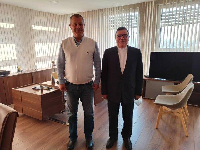 درخواست سفیر ایران از رییس تلویزیون بلغارستان