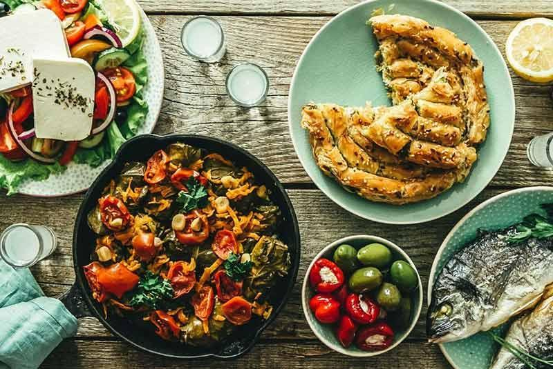 دستور تهیه 7 غذای معروف یونانی