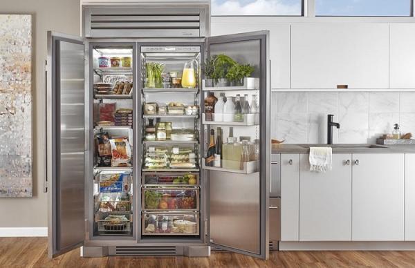 قیمت یخچال فریزر های ساید بای ساید در بازار لوازم خانگی